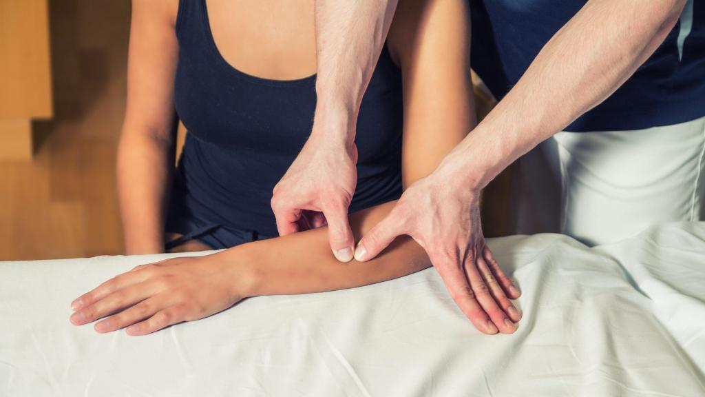Triggerpunkttherapie Unterarm